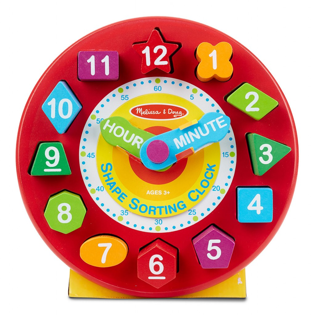 Toddler Boy Holiday Gift Guide | rickabamboo.com | #clock #puzzle #shapesorter