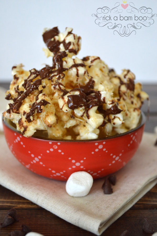 Especially for Your Sweet Tooth {12 Popcorn Recipes} eBook - Smore's | rickabamboo.com