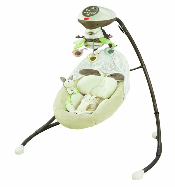My Favorite Baby Products: Swing | rickabamboo.com