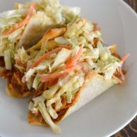 BBQ Pork Wonton Tacos