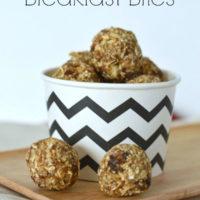 Oatmeal Raisin Breakfast Bites