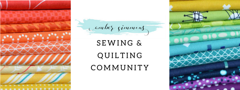 Amber Simmons Sewing and Quilting Community
