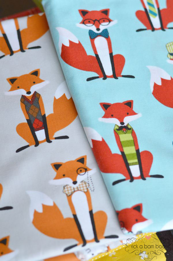 Fancy Fox Quilt - Part 1 | rickabamboo.com