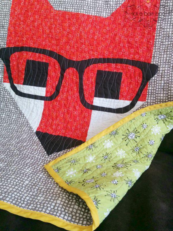 Fancy Fox Quilt - Part 1   rickabamboo.com