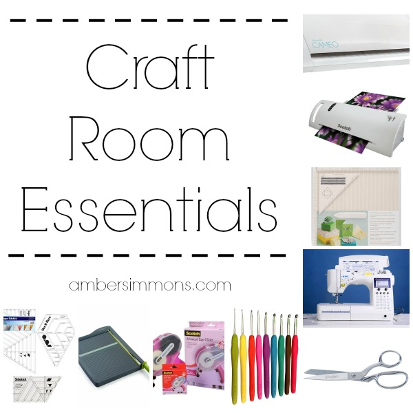 If you dabble in a little bit of everything like I do then your craft space is full of supplies and tools. I wanted to share with you some of my favorites and some things on my wish list this holiday season. You know, in case you are looking for a gift for the crafter in your life.