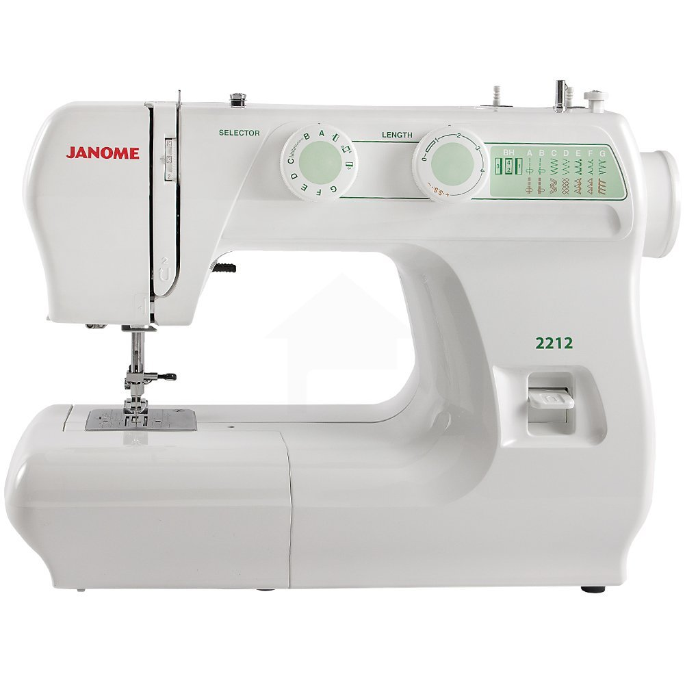 If you are looking for something a little more basic that won't break the bank I currently have a basic Janome that is equivalent to the Janome . It is a great machine and I have used it for five and a half years. It does everything a beginner needs, but there are no bells and whistles.