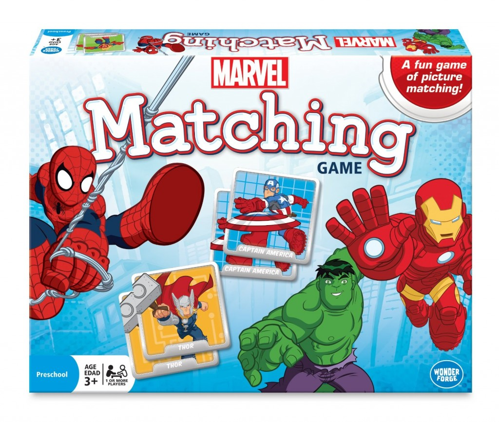 Marvel Matching | Toddler Holiday Gift Guide| Amber Simmons | Memory games are also a great choice. They come in so many fun styles and they are so easy to change difficulty based off the child. Just start with a few matches and work your way up to the whole box.