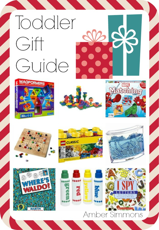 Toddler Holiday Gift Guide | Amber Simmons | It's time to start thinking about holiday gifts again. And if you have a child in your life they no doubt want toys. Luckily, most of the toys on my list this year are STEM toys. STEM stands for Science Technology Engineering and Mathematics. So they are great for kids to learn through play. Educational toddler gift ideas. STEM toys are the perfect gift that kids will love to play with again and again.