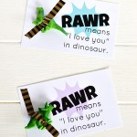 Rawr Means I Love You Printable Dinosaur Valentine