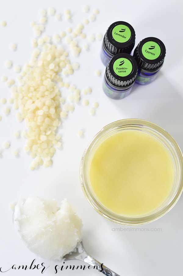 Homemade Moisturizing Facial Balm   Lotion   Dry Skin   Face Cream Recipe   ambersimmons.com
