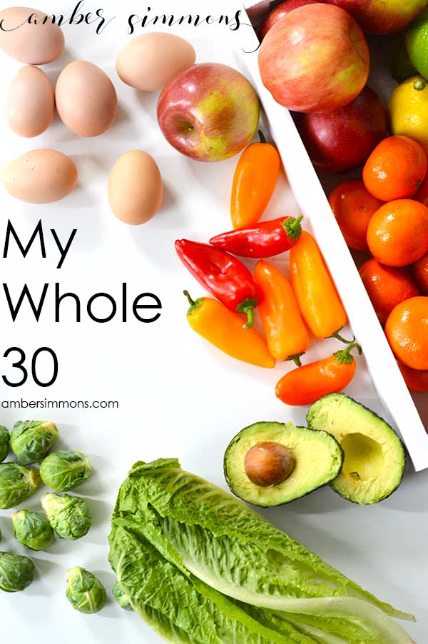 My Whole 30 Journey | Clean Eating | Paleo | Health | Weight Loss | Diet