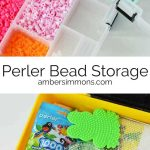 Perler Bead Storage Idea