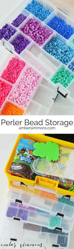 Perler Bead Storage Idea