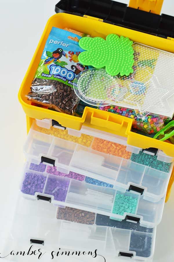 Perler Bead Storage Idea - Amber Simmons