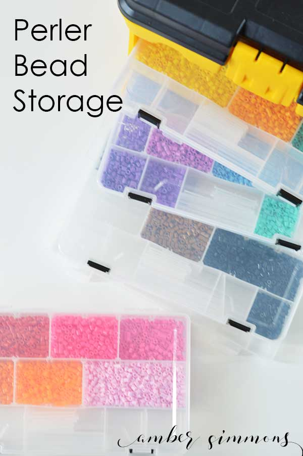 Perler Bead Storage Solution | Craft Organization | Kids Crafts
