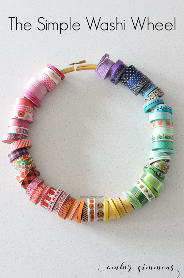 The Simple Washi Wheel