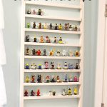 Lego Minifigure Shelf for Under Five Dollars