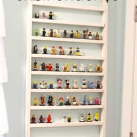 Lego Minifigure Display Shelf for Under Five Dollars