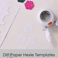 DIY Paper Hexie Templates