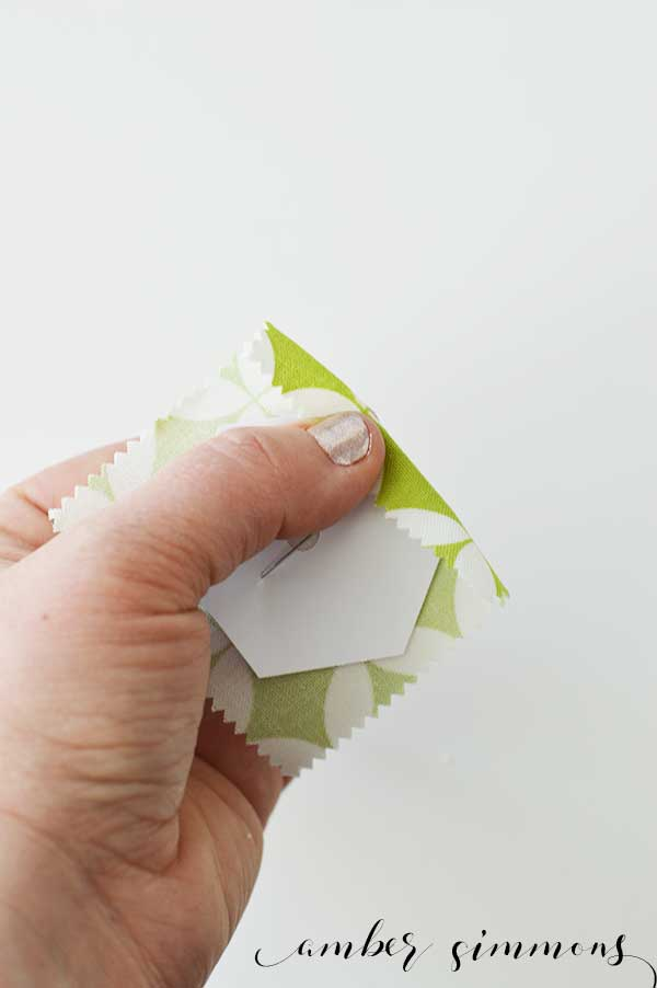 English Paper Piecing Hexie Tutorial | Fabric hexies | DIY | Handmade | epp