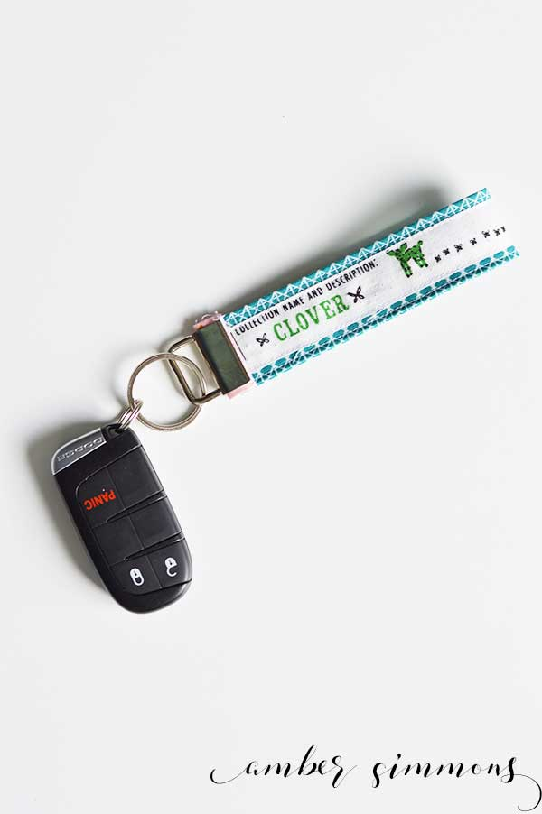Handmade Key Fob Keychain | DIY | Simple Sewing | Beginner Project | Quick Gift