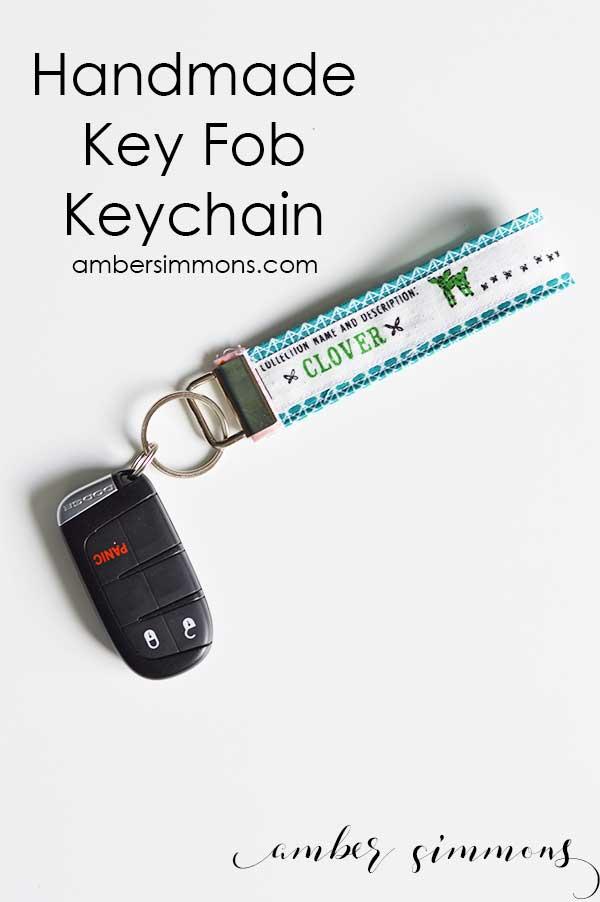 Handmade Key Fob Keychain