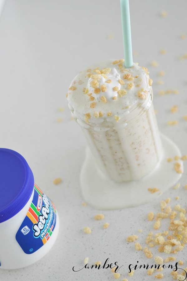 Rice Crispy Treat Milkshake