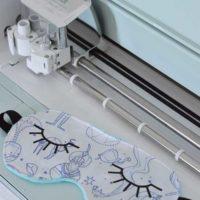 DIY Sleep Mask - Cricut Sewing Blog Tour