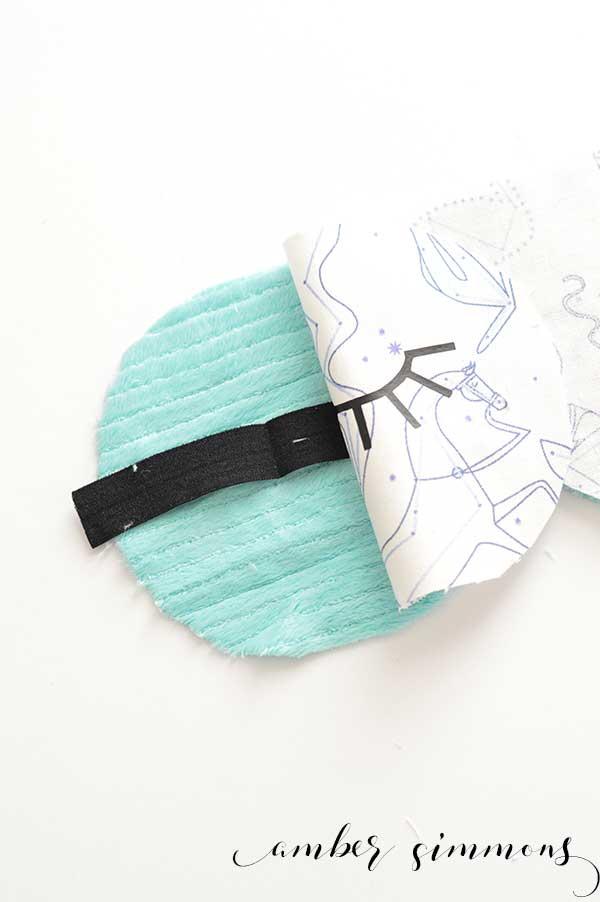DIY Sleep Mask | Cricut Sewing Blog Tour