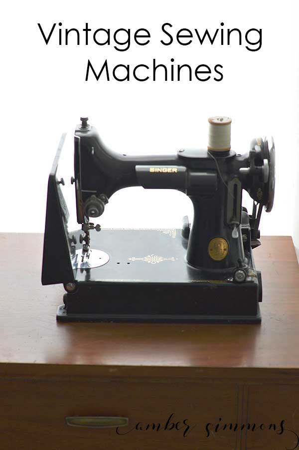 Join me on my journey to collecting, restoring, and understanding vintage sewing machines, specifically Singer brand.