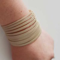 Cricut Maker Leather Strappy Cuff Tutorial