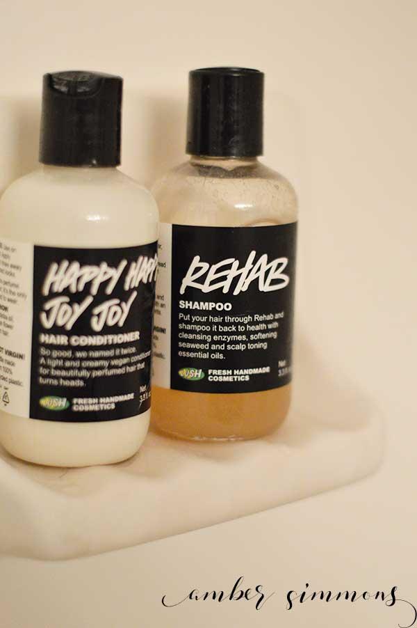 My Favorite Things - Lush Rehab Shampoo