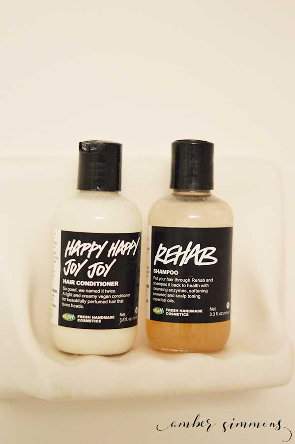 My Favorite Things - Lush Rehab Shampoo