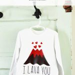 I Lava You Shirt DIY