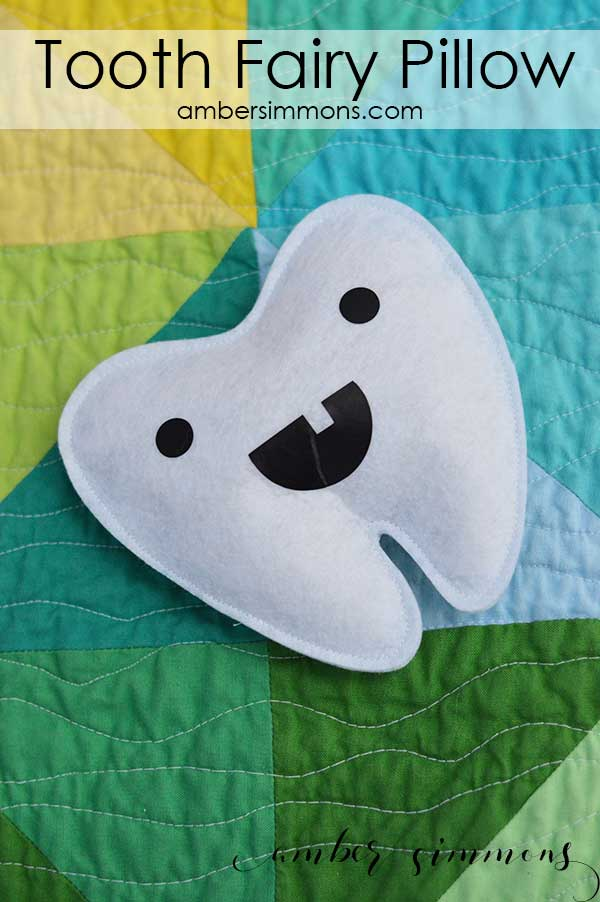 Tooth Fairy Pillow {with Cricut Maker Pattern!}