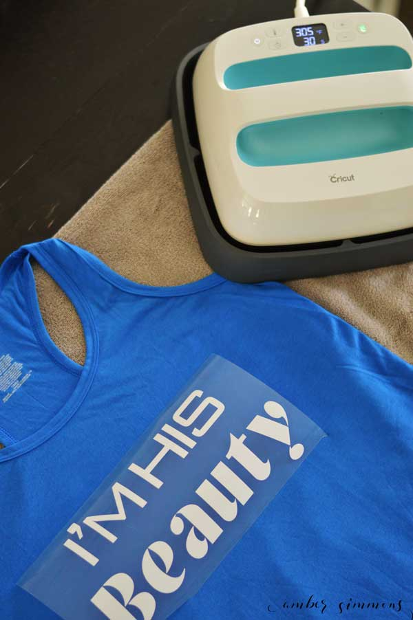 Couples Beauty And The Beast Workout Shirts With Cricut