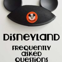 Disneyland Resort FAQ's