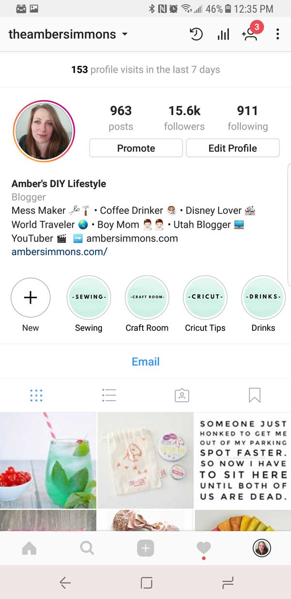 This tutorial on how to create Instagram story highlight covers will help you DIY your own covers and have you feeling like a pro using two simple options. #insta #instagram #howto #tutorial #socialmedia