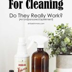 Essential Oils For Cleaning: Do They Really Work (An Unsponsored Experiment)