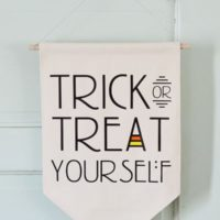 Trick or Treat Yourself Banner
