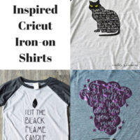 Hocus Pocus Inspired Cricut Iron-on Shirts