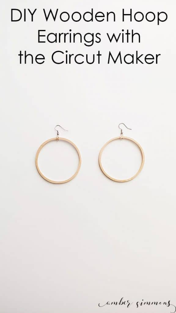 Wooden Hoop Earring Tutorial and Which Cricut Should I Buy? A Comparison: Cricut Maker vs. Explore Air 2