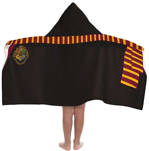 Harry Potter hooded bath towels