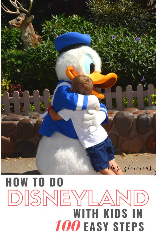 A comical step by step guide on how to do Disneyland with small children. Don't worry. There are important bits and relative info in here as well.