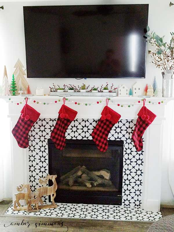 This tutorial for how to paint a tile fireplace will take your living space from drab to fab in no time.