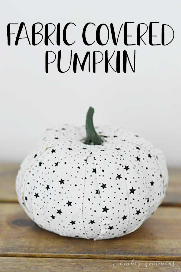 This tutorial for how to make a fabric covered pumpkin TWO WAYS will up your fall decor game. They are easy to make and fully customizable.