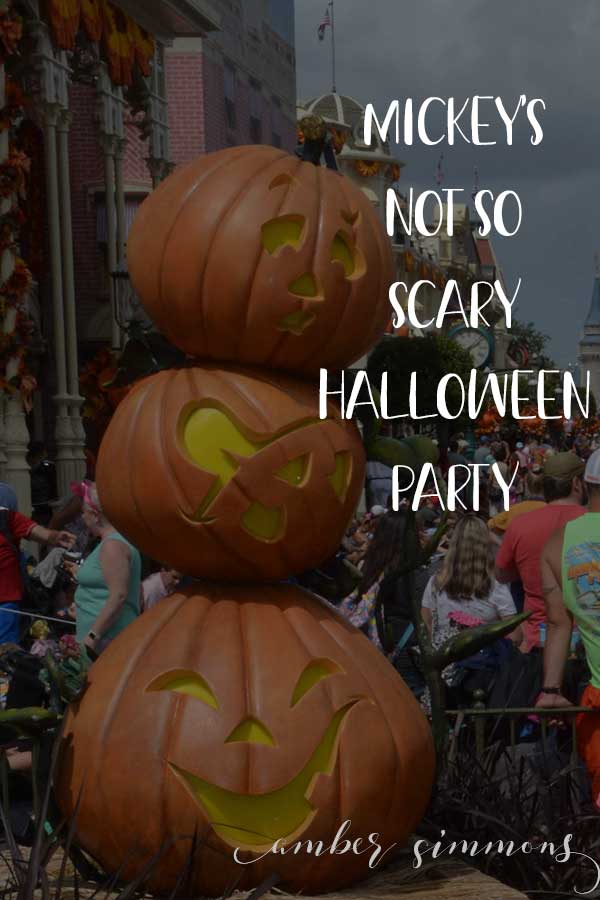 Know before you go: Mickey's Not So Scary Halloween Party at Disney World park.