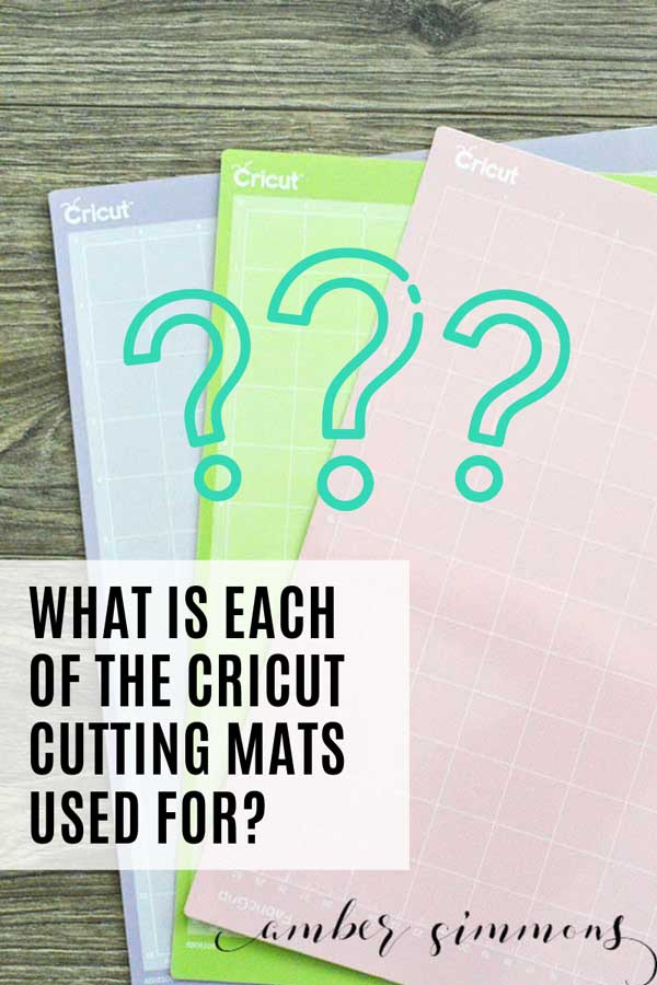 Have you ever wondered what each of the Cricut cutting mats is used for and what the difference is between them? In this post, we are going to break it all down.