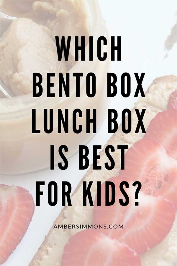 I've been researching which bento box lunch box is best for kids so you don't have to! Come check out some different options and see what I ultimately decided to choose for my family. #bentobox #lunchtime #schoollunch