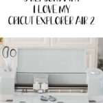 Cricut helps to take my craft projects to the next level, so today I'm sharing 5 reasons why I love my Cricut Explorer Air 2. #cricutcreated #ad